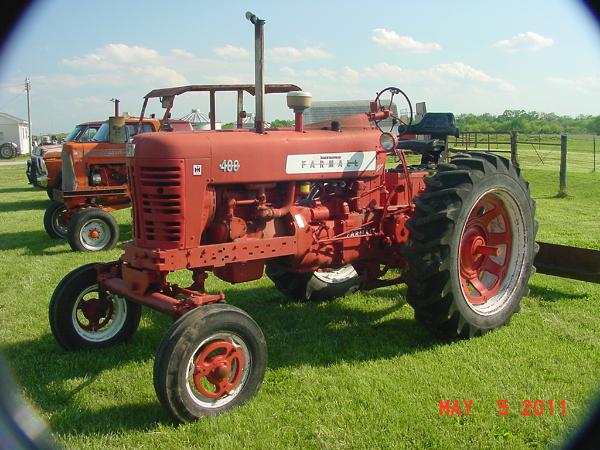 Farmall Super A Seat : International farmall m tractor